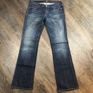 7 For All Mankind Jeans Long Bootcut Pants 31